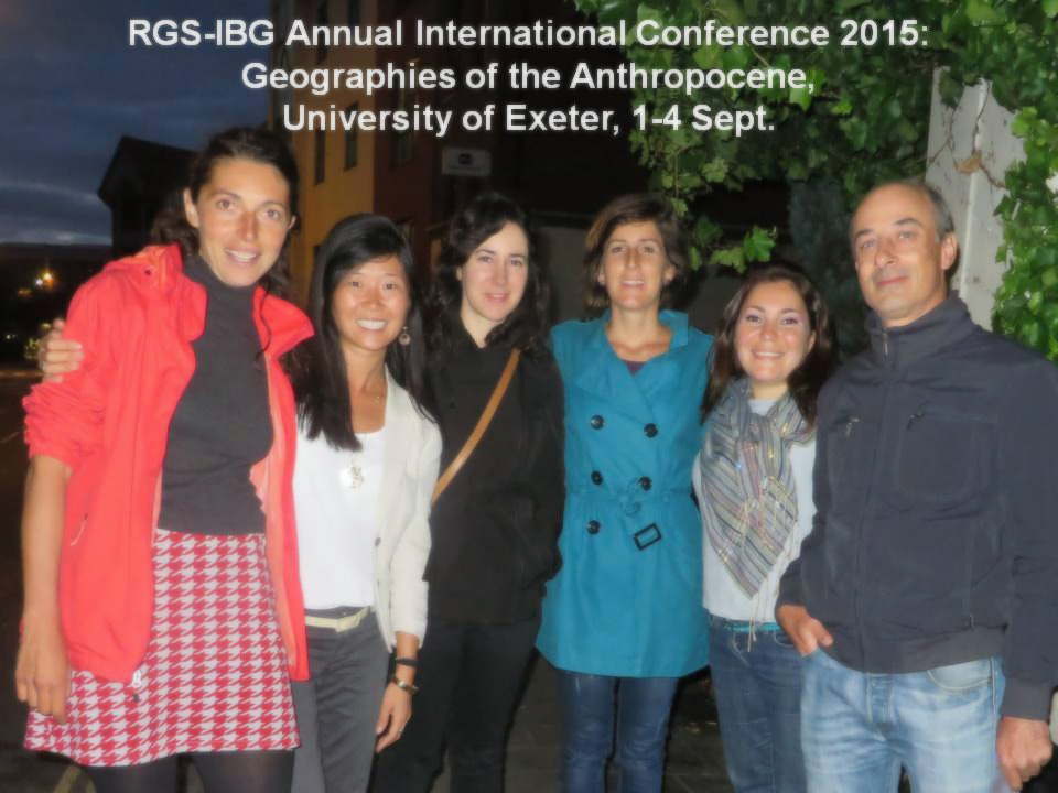 TESS at the RGS-IBG Annual Conference 2015, University of Exeter, 1-4 September