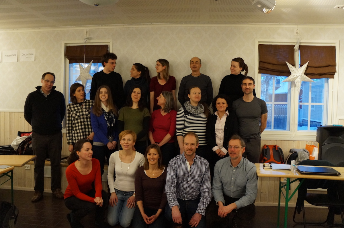 Surviving the Arctic cold – the 4th TESS project meeting at Oulu, Finland